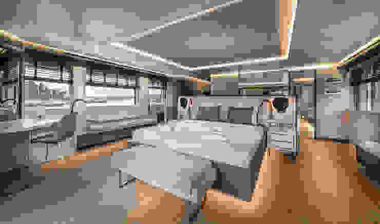 NUMARINE 32 XP YACHT DESIGN Esra Kazmirci Mimarlik Yachts & jets Grey