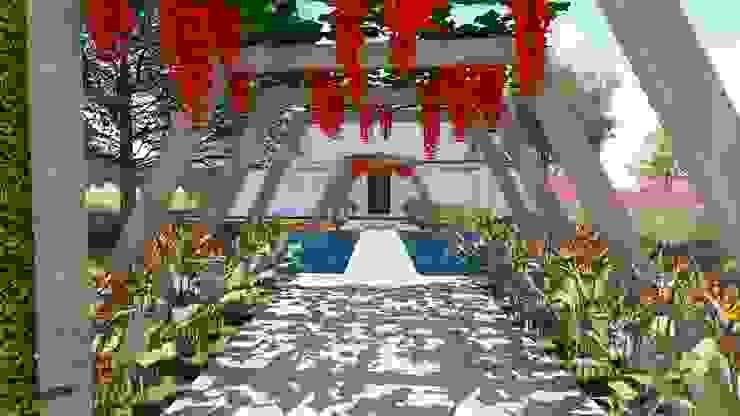 Jardin de style  par Studio²,