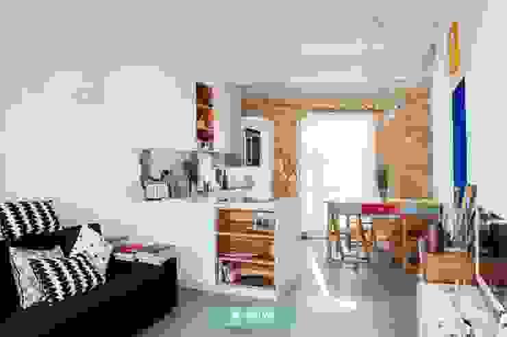 Fm 家居用品房間隔間與屏風 木頭 White