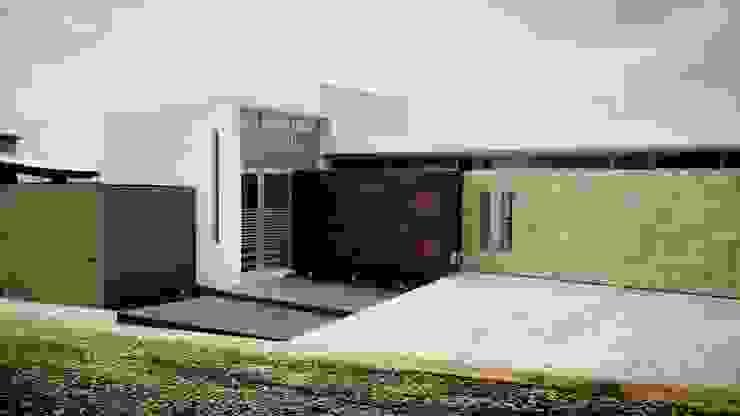 JAOSVA: Casas de estilo  por MICHEAS ARQUITECTOS