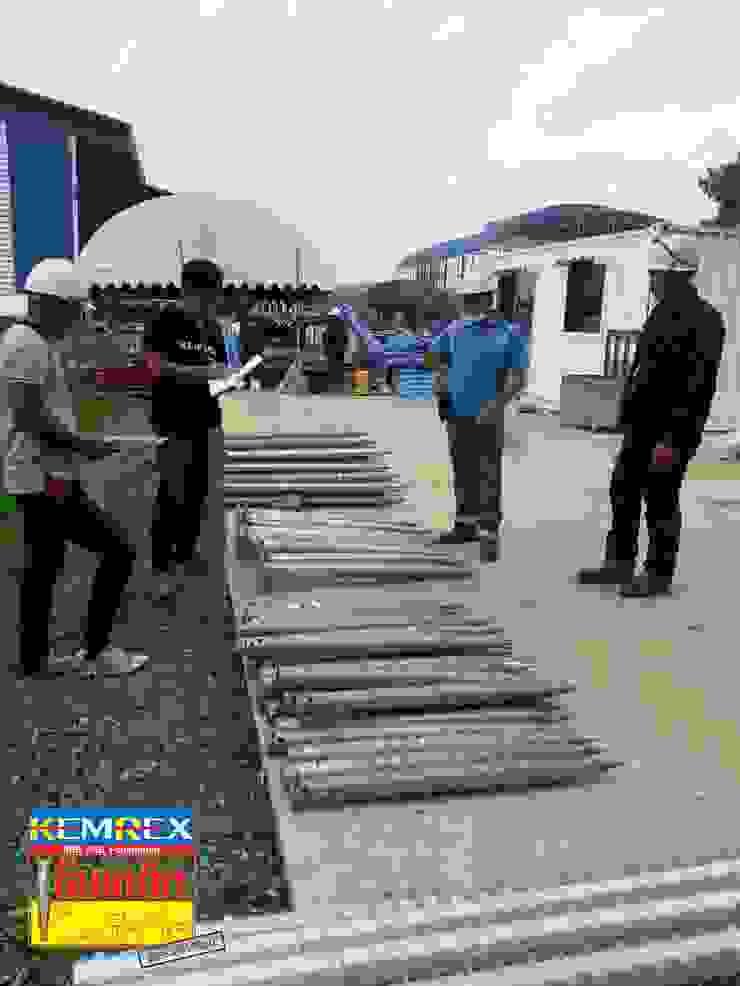 งานท่อส่งน้ำดับเพลิง จ.ลพบุรี โดย บริษัทเข็มเหล็ก จำกัด