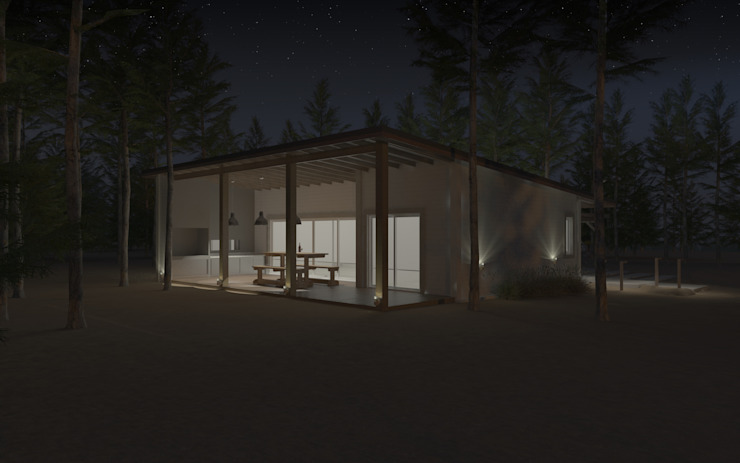 JOM HOUSES Rumah Modern Batu Bata