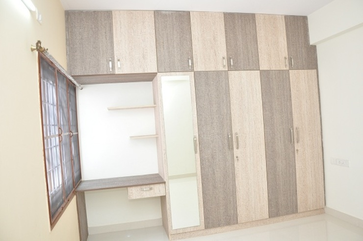 Buy Cupboard Online Asian style bedroom by homify Asian Plywood