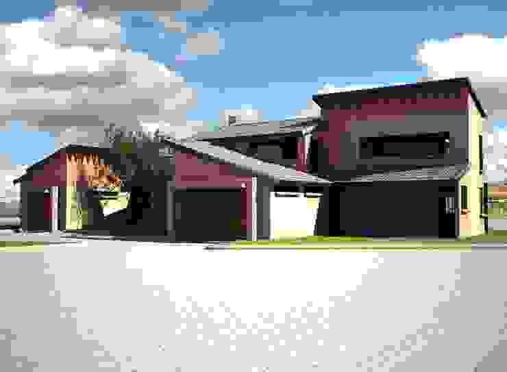 House Greeff Modern houses by Truspace Modern