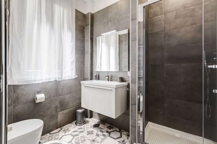 Baños modernos de Luca Tranquilli - Fotografo Moderno