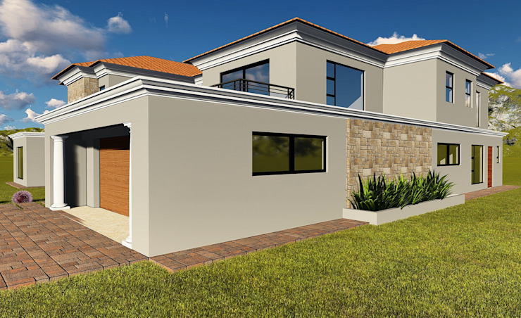 Crystal Park Benoni Modern houses by BlackStructure Modern