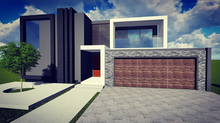 Cressentwood estate Midrand:  Houses by BlackStructure, Modern