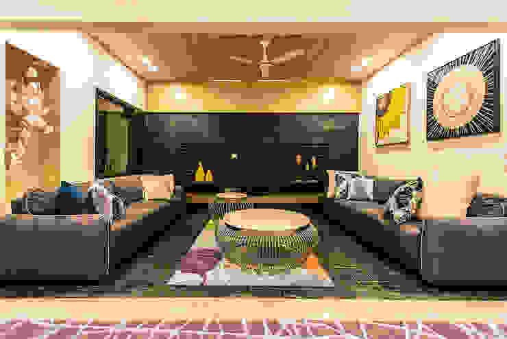 Lounge Modern living room by Studio An-V-Thot Architects Pvt. Ltd. Modern