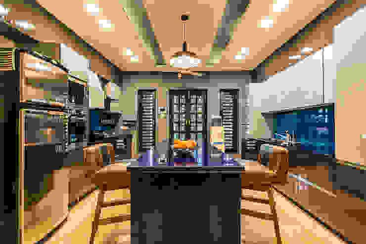 Kitchen Modern kitchen by Studio An-V-Thot Architects Pvt. Ltd. Modern