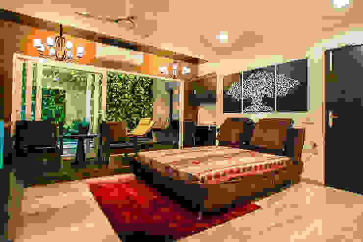 Bedroom-1 Modern style bedroom by Studio An-V-Thot Architects Pvt. Ltd. Modern