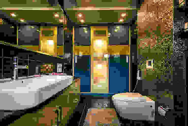 Washroom Modern bathroom by Studio An-V-Thot Architects Pvt. Ltd. Modern