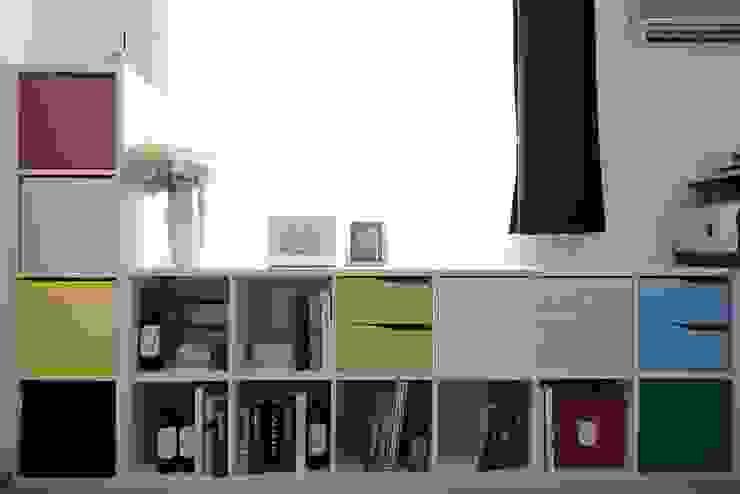 男主人工作室-工作區與閱讀區 根據 大觀創境空間設計事務所 現代風