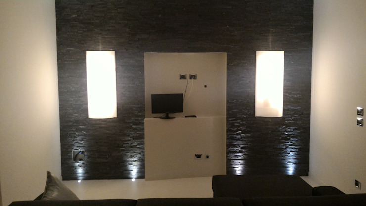 Salas de estilo minimalista de Luca Alitini Minimalista