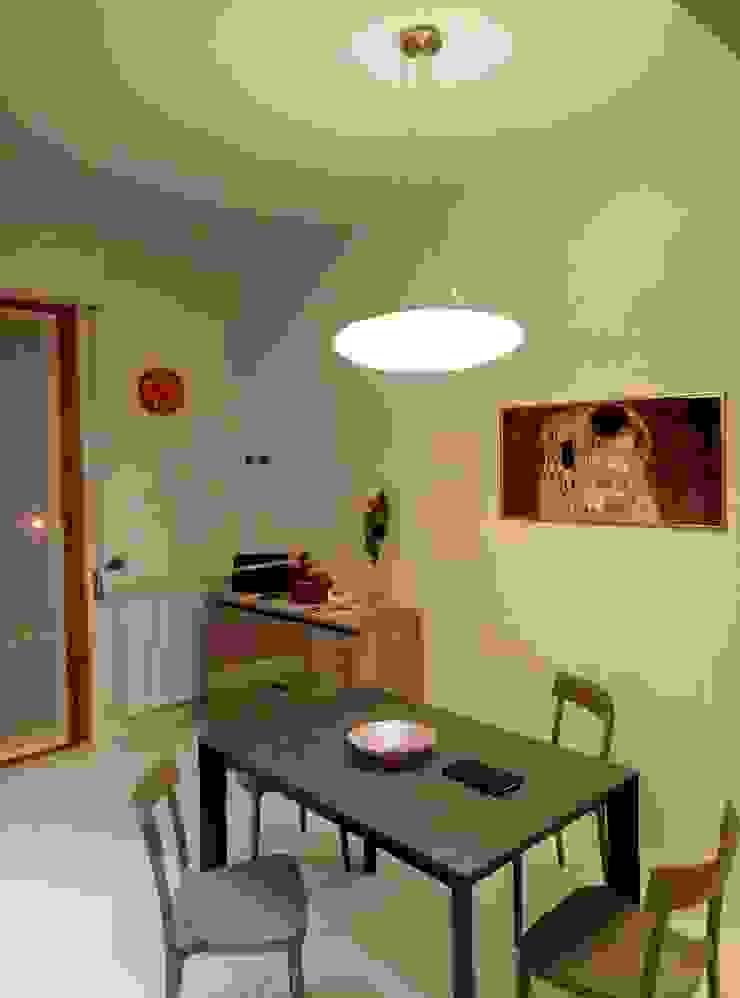 Cocinas de estilo minimalista de Luca Alitini Minimalista Derivados de madera Transparente