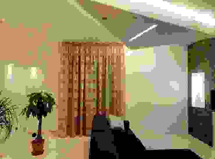 Salas de estilo minimalista de Luca Alitini Minimalista Ladrillos