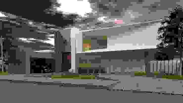 Rumah Modern Oleh CASTELLINO ARQUITECTOS (+) Modern Beton