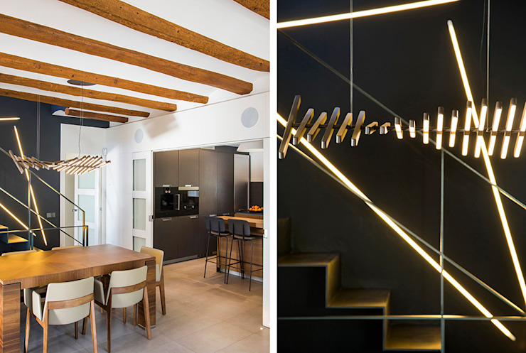 Casa en Sant Pau d'Ordal Comedores de estilo moderno de Silvia R. Mallafré Moderno