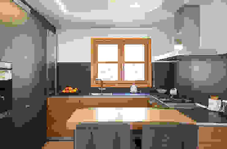 Casa en Sant Pau d'Ordal Cocinas de estilo moderno de Silvia R. Mallafré Moderno