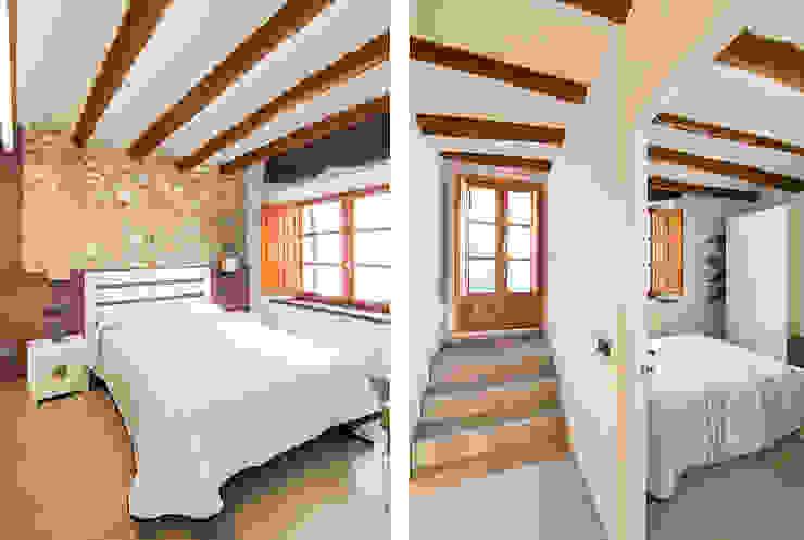 Casa en Sant Pau d'Ordal Dormitorios de estilo rural de Silvia R. Mallafré Rural