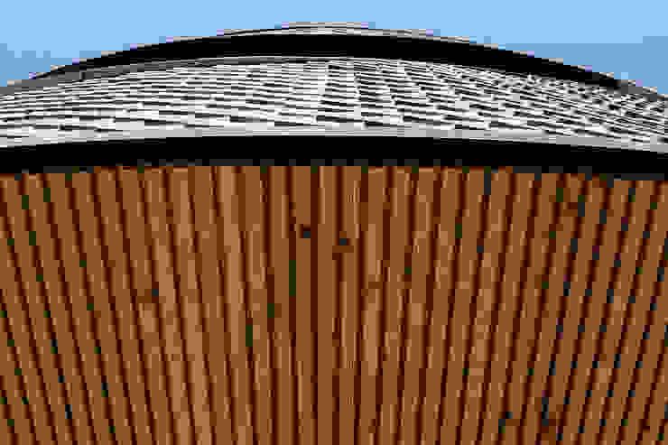 둥글둥글_춘천시 신동면 증리 880-4 상가주택 모던스타일 주택 by AAG architecten 모던