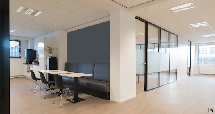 Kantoorruimte Rijswijk Moderne kantoor- & winkelruimten van Atelier Perspective Interieurarchitectuur Modern