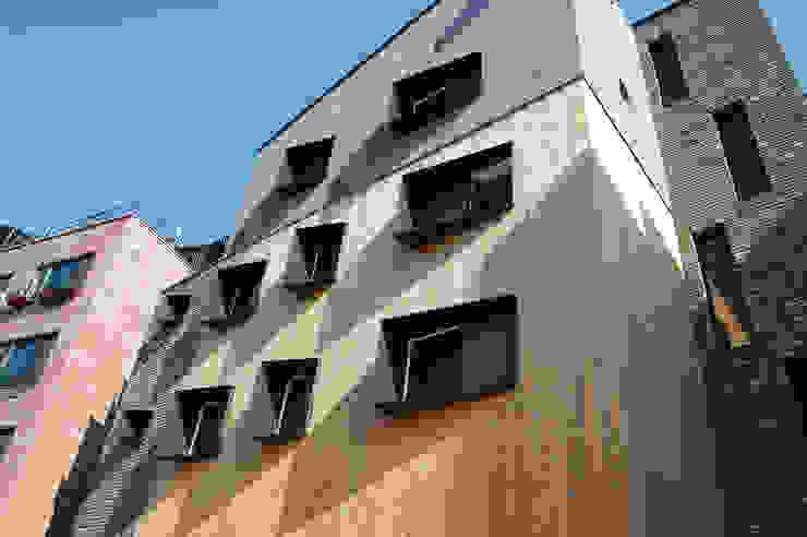 온유재_광명시 일직동 503-12 상가주택 모던스타일 주택 by AAG architecten 모던