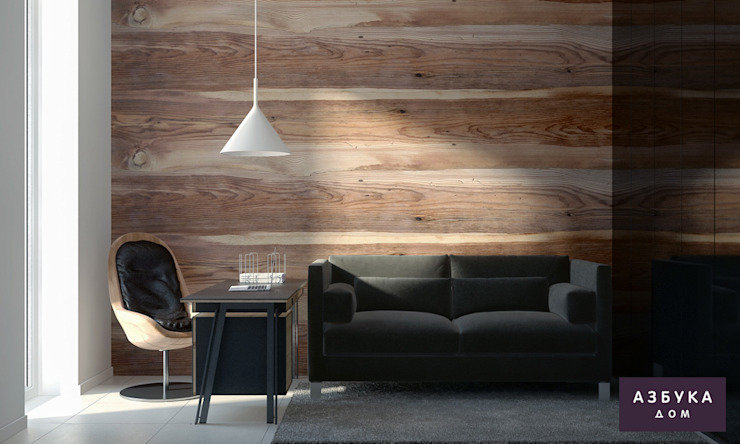 Estudios y despachos de estilo minimalista de Студия дизайна 'Азбука Дом' Minimalista