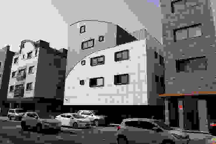 유미재_안양시 박달동 925-3 상가주택 AAG architecten 모던스타일 주택