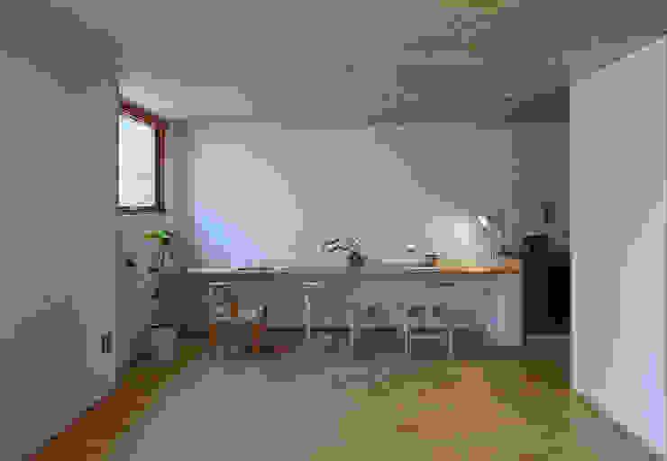 でんホーム鳥飼モデルハウス でんホーム株式会社 和風デザインの 書斎