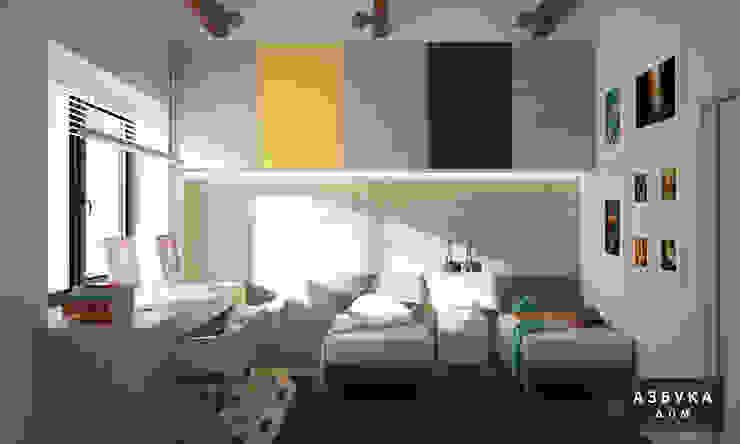 غرفة الاطفال تنفيذ Студия дизайна 'Азбука Дом', تبسيطي