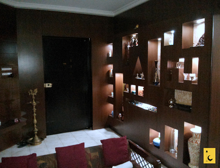 Mohitsham Greenwoods, Mangalore: modern  by Indoor Concepts,Modern Wood Wood effect