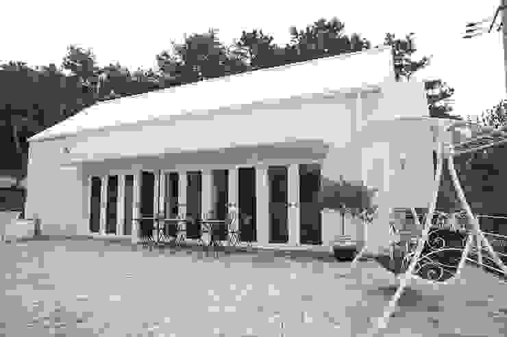 Blanc jardin 모던스타일 주방 by AAPA건축사사무소 모던