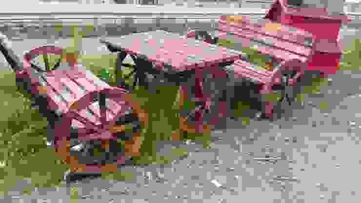 de ASM GRUP bahçe mobilyaları ve ahşap uygulamaları