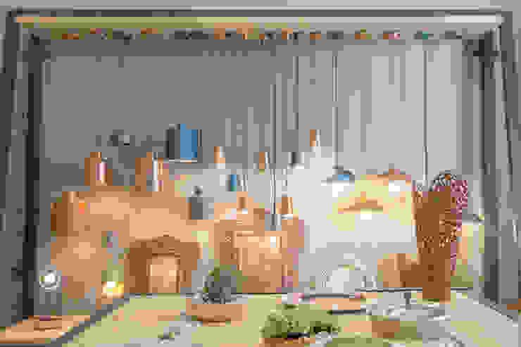 Lamparas decorativas Amoretti Brothers: Salas de estilo  por AmorettiBrothers Studio | Mexico