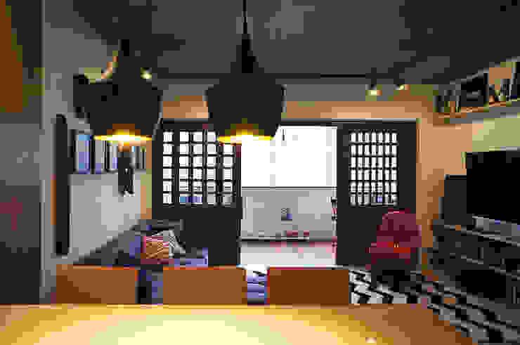 Salas modernas de Lelalo - arquitetura e design Moderno Concreto