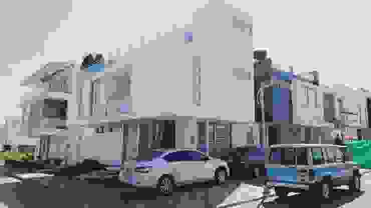 casa 3 niveles CONSTRUCTOR INDEPENDIENTE Casas de estilo minimalista