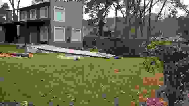 Diseño de eco- parque en Sierra de los Padres Jardines de estilo rústico de LT Paisaje Diseño Sustentable Rústico