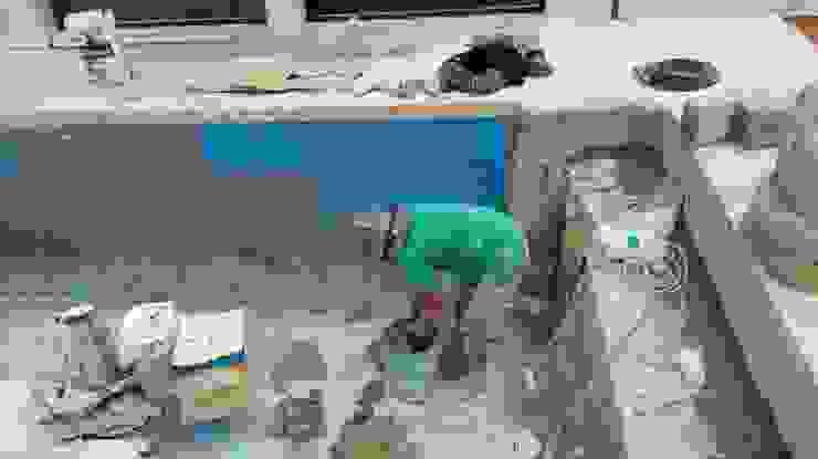 CONSTRUCCIÓN DE ALBERCA EN TENANCINGO Piscinas de estilo moderno de Albercas Aqualim Toluca Moderno Concreto