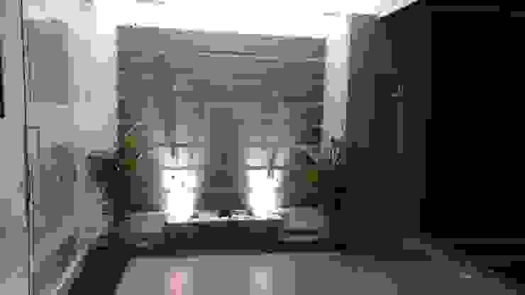 casa portofino club: Paredes de estilo  por CONSTRUCTOR INDEPENDIENTE, Minimalista