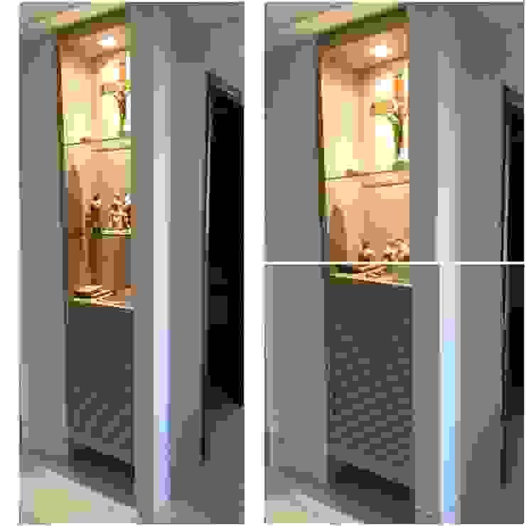 モダンスタイルの 玄関&廊下&階段 の LVM Arquitetura モダン