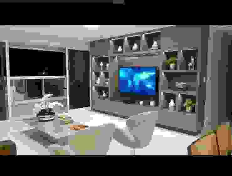 Modern living room by LVM Arquitetura Modern