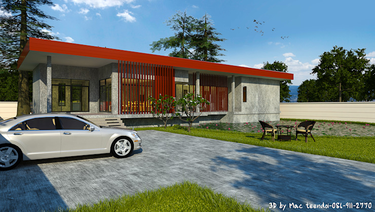 บ้านสไตล์ Loft 02 โดย MaxShop