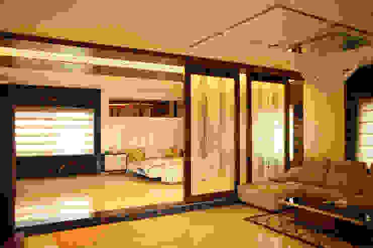 Dhanturi Farm House Mediterranean style bedroom by iammies Landscapes Mediterranean
