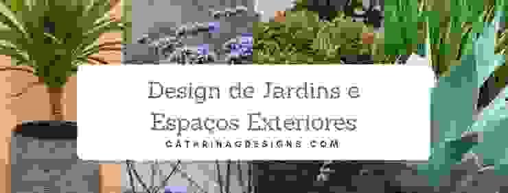 Modern style gardens by CatarinaGDesigns Modern