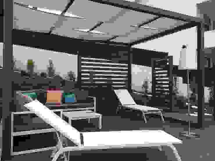 Projecto implementado moradia em Loures CatarinaGDesigns Jardins modernos
