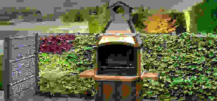 Zona Barbacoa - AG 3 POSTDIV + AG CESTRUCT PLANTA-DECO Jardines de estilo moderno de AIR GARDEN Moderno