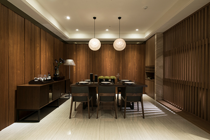 Modern dining room by 立禾空間設計有限公司 Modern
