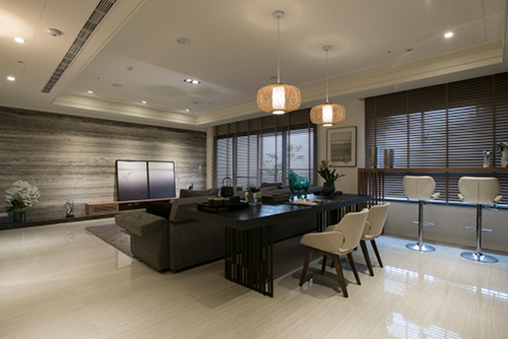 Modern study/office by 立禾空間設計有限公司 Modern