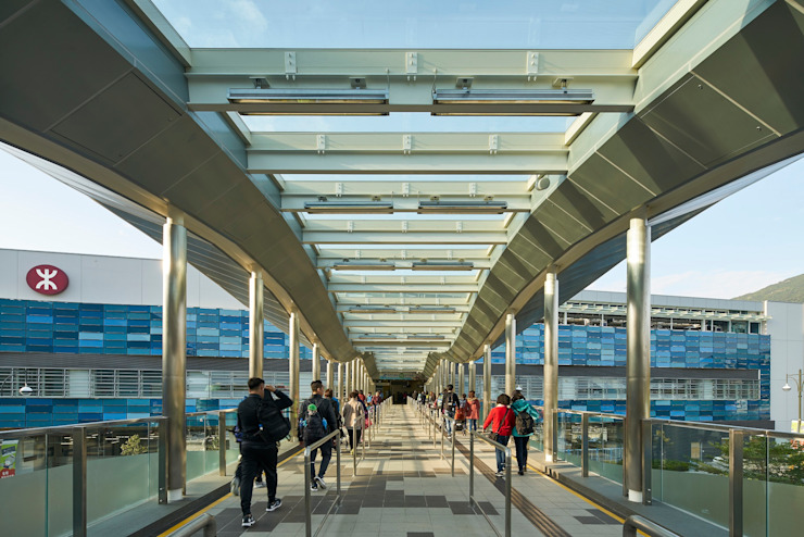 MTR Ocean Park Station, Hong Kong by Architecture by Aedas