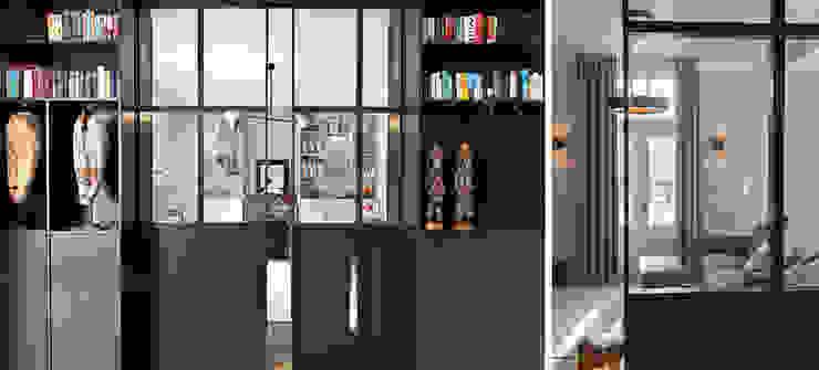 Binnenvorm Living roomCupboards & sideboards Wood Black
